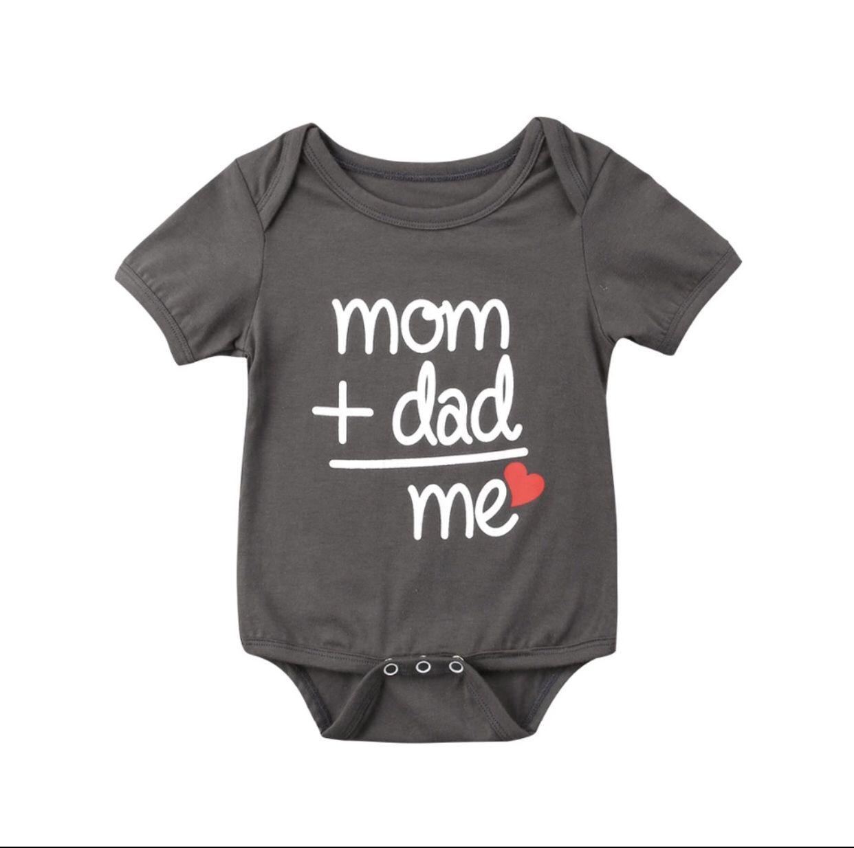Funny Super Dad Unisex Baby Onesie Baby Clothes Newborn to 18 Months