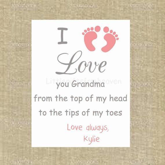 Grandma Gift, Gift from Grandkids, Grandmother Gift, Grammy Gift, Mothers Day Gift #grandparentsdaygifts