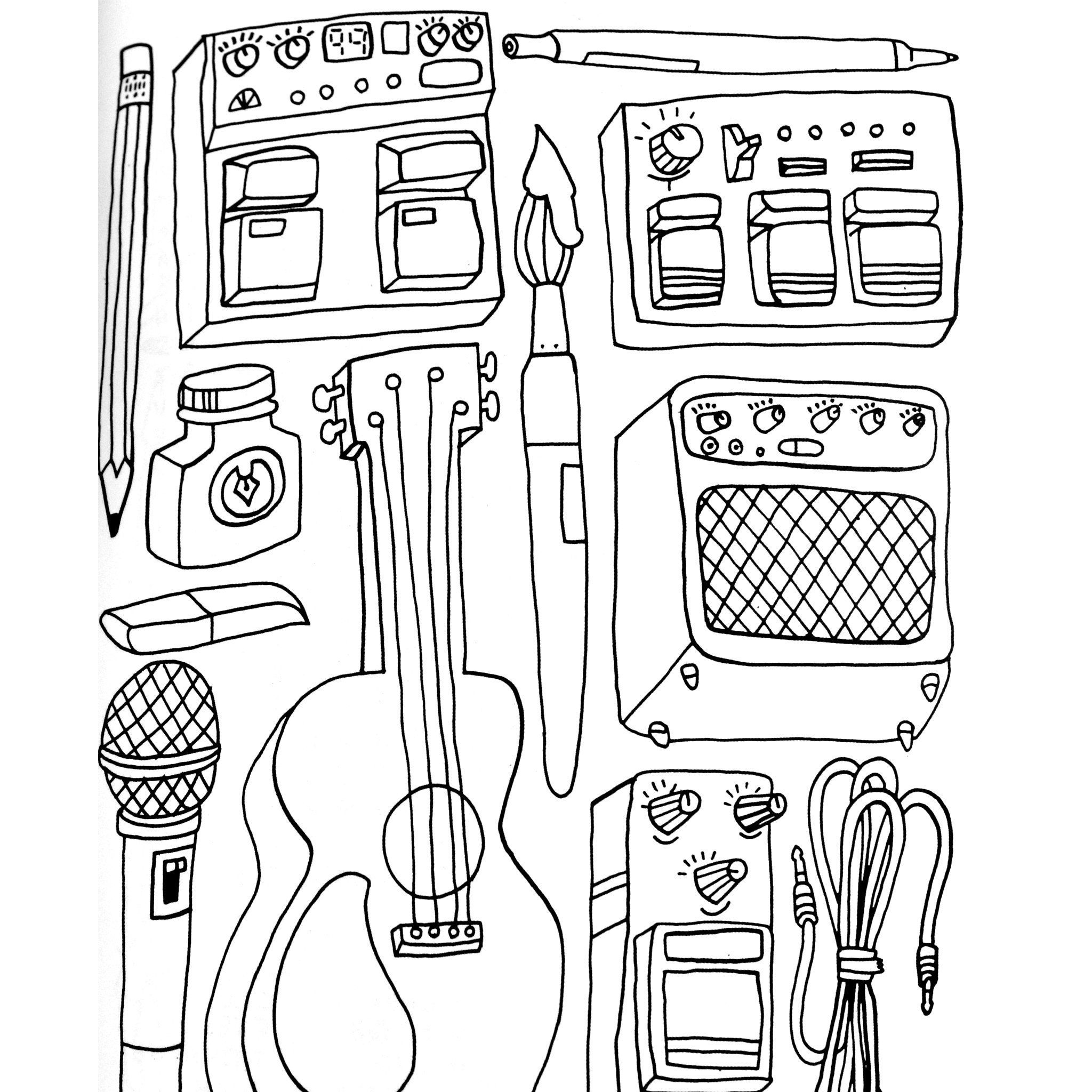 Pin on Hip Hop Coloring Book compiled by Jamee Schleifer
