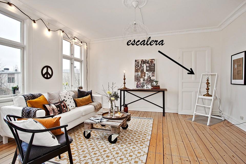 El reciclaje es la clave en esta casa moda deco y mas for Muebles reciclados para un estilo industrial
