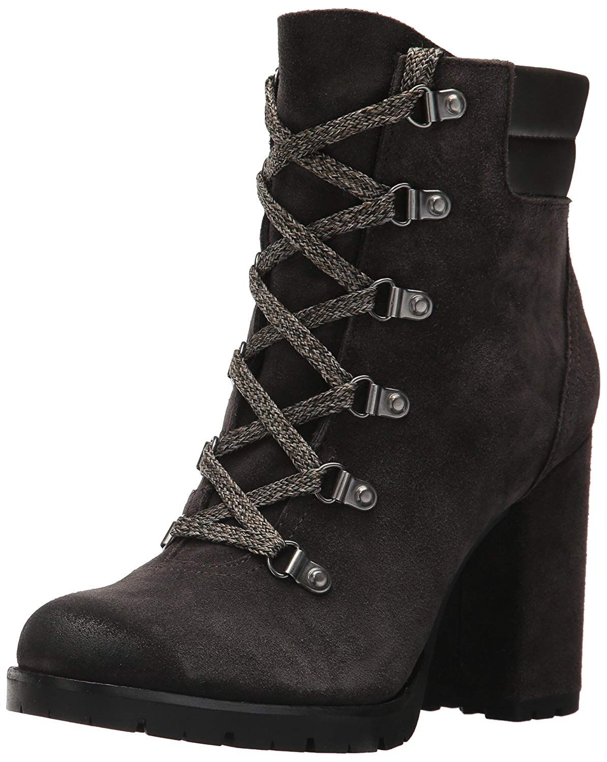 f4845f933dc9e Sam Edelman Women's Carolena Ankle Boot. Block heeled hiker style bootie  with lug sole Sam Edelman shoes epitomize chic comfort. Women's Shoes,Boots, Ankle ...
