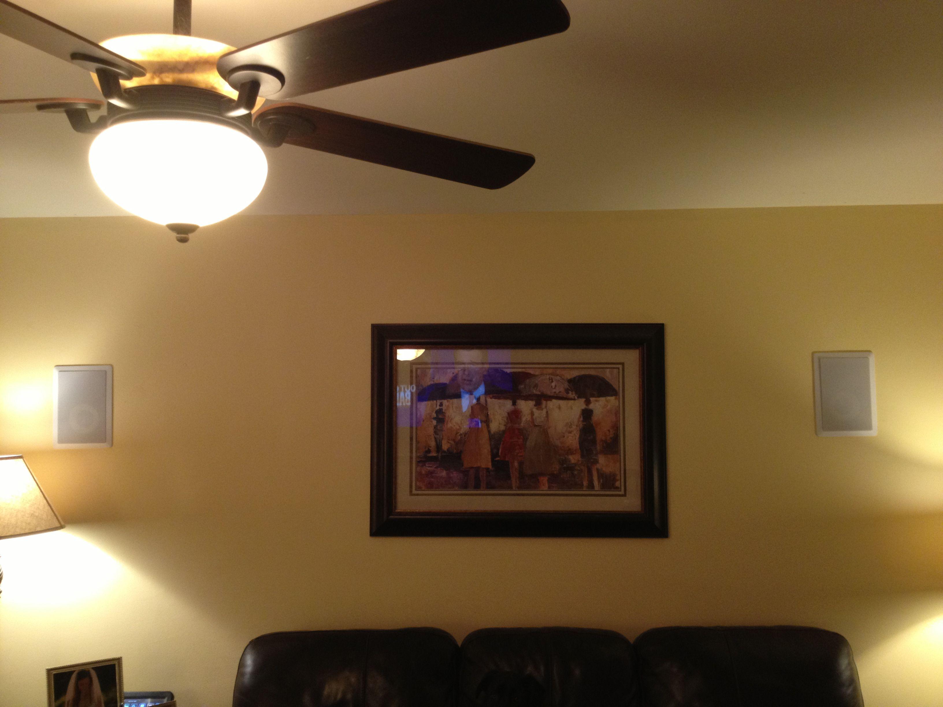 Wall lights, Surround sound