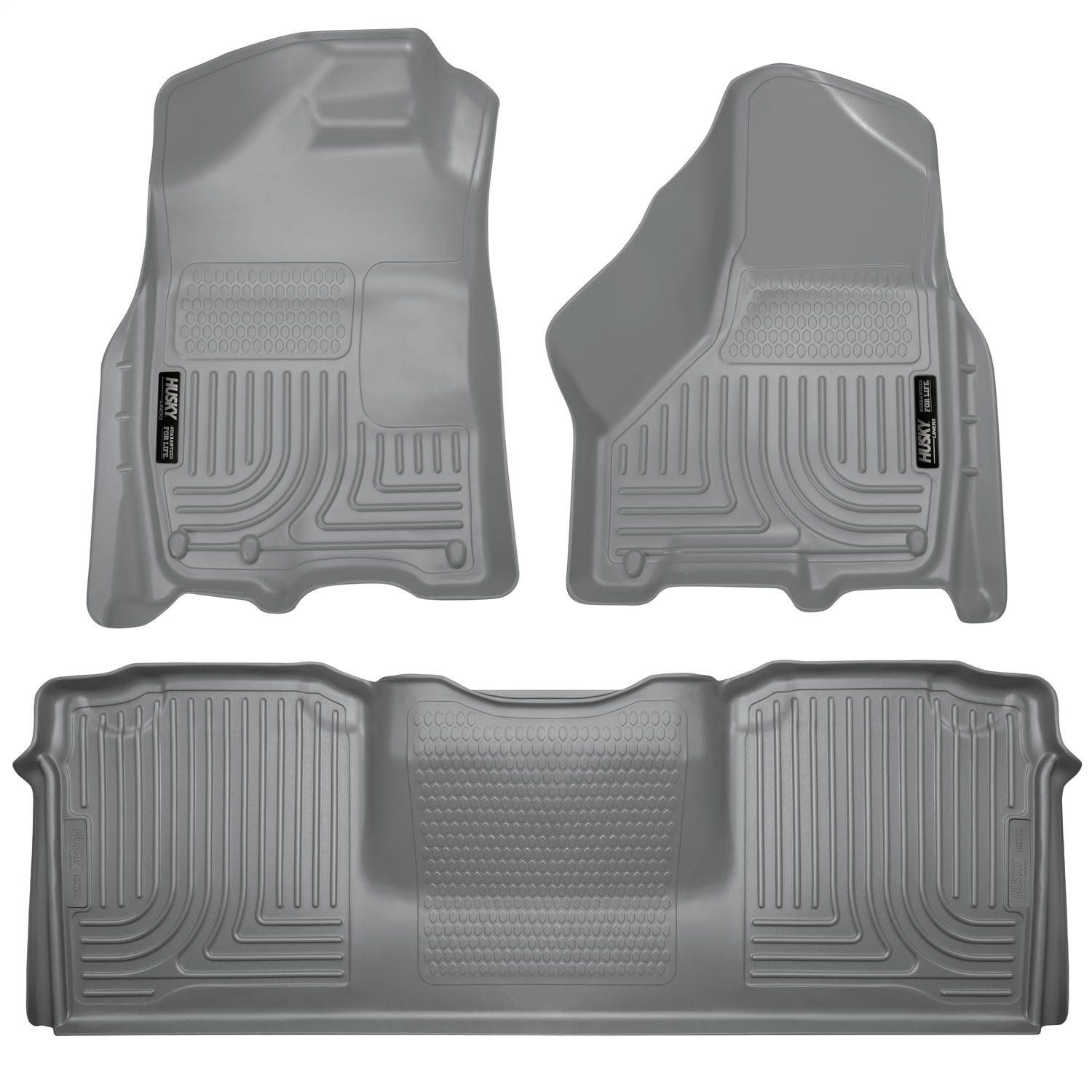 Husky Liners Front And 2nd Seat Floor Liners Fits 10 18 Ram 2500 3500 Mega Cab You Can Find Out More Details At The Link Of Husky Liners Floor Liners Ram 1500