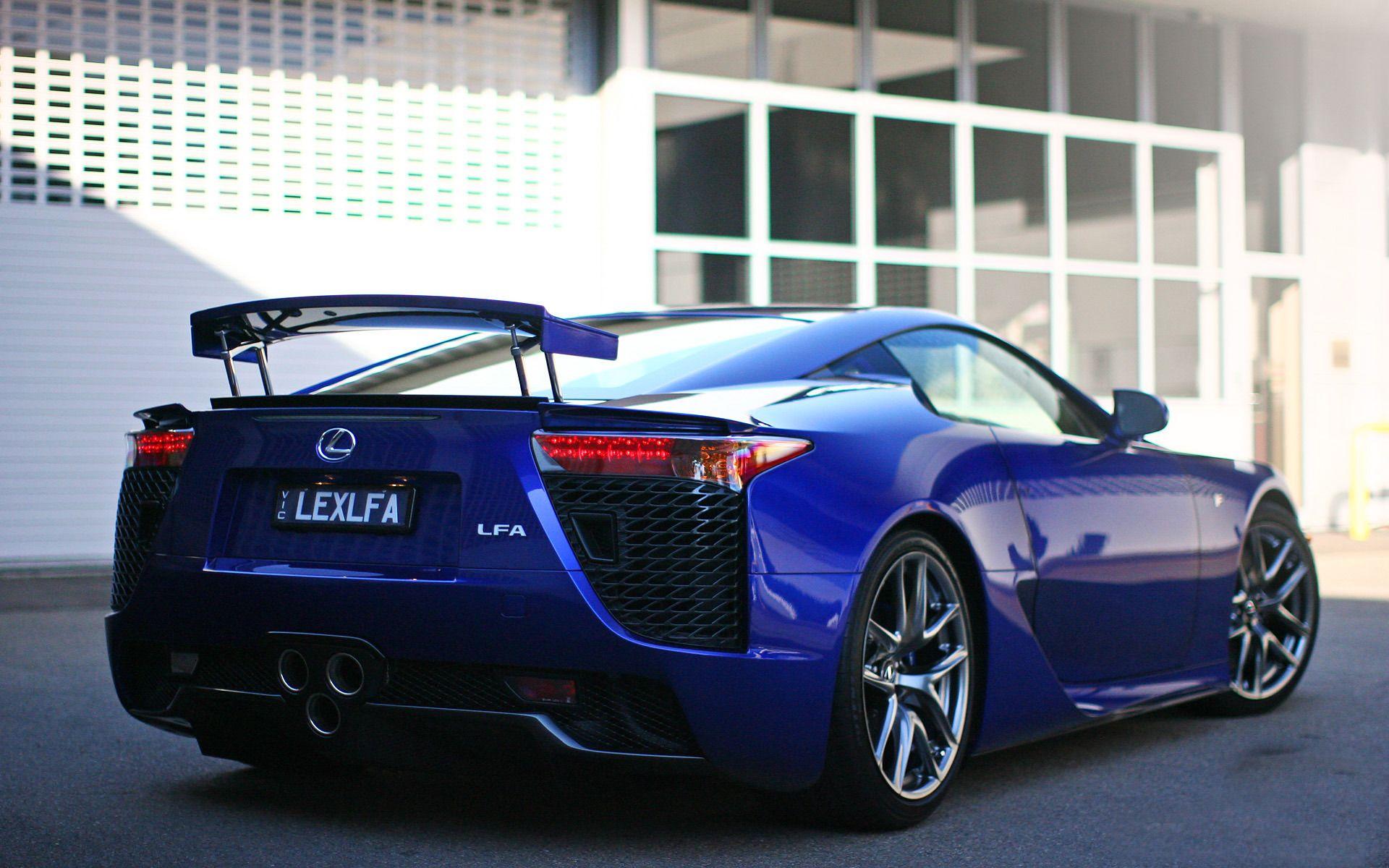 Lexus Lfa Car Hd Wallpaper Blue Lexus Lfa Pinterest Lexus Lfa