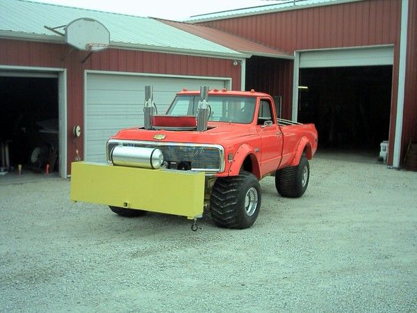 Modified 4WD pulling truck rolling chassis for Sale in NEW