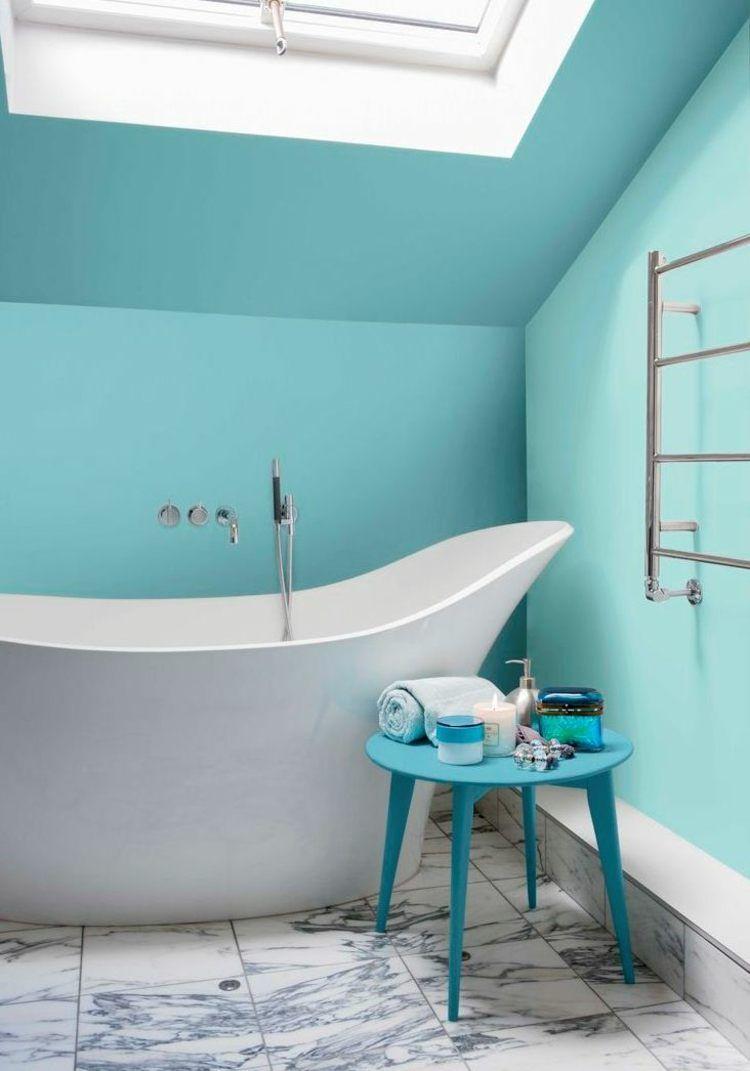 9 Badezimmer Streichen In Beliebigen Farbvarianten Ideen ...