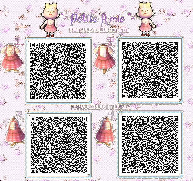 Cute pink dress QR Code