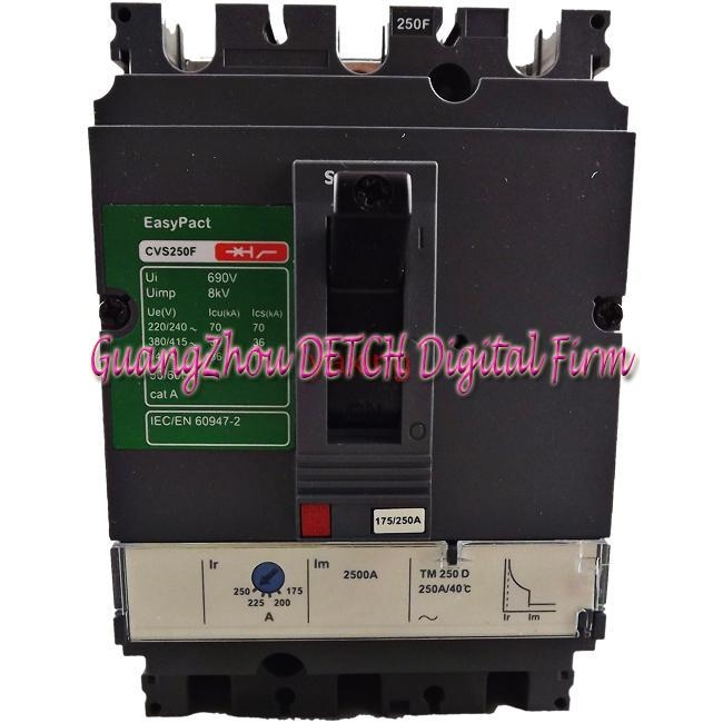 168.00$  Watch now - http://alices.worldwells.pw/go.php?t=32689015683 - Original CVS160F 4P 160A LV516343 Moulded Case circuit breaker 168.00$