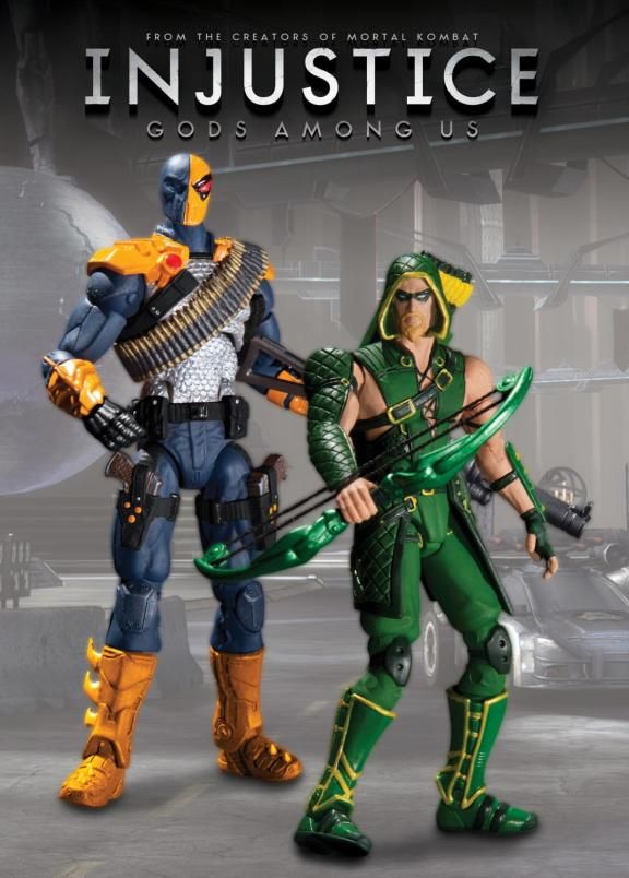 Injustice Gods Among Us 3 3 4 Action Figue 2 Packs Announced Dc Collectibles Injustice Dc Comics Action Figures