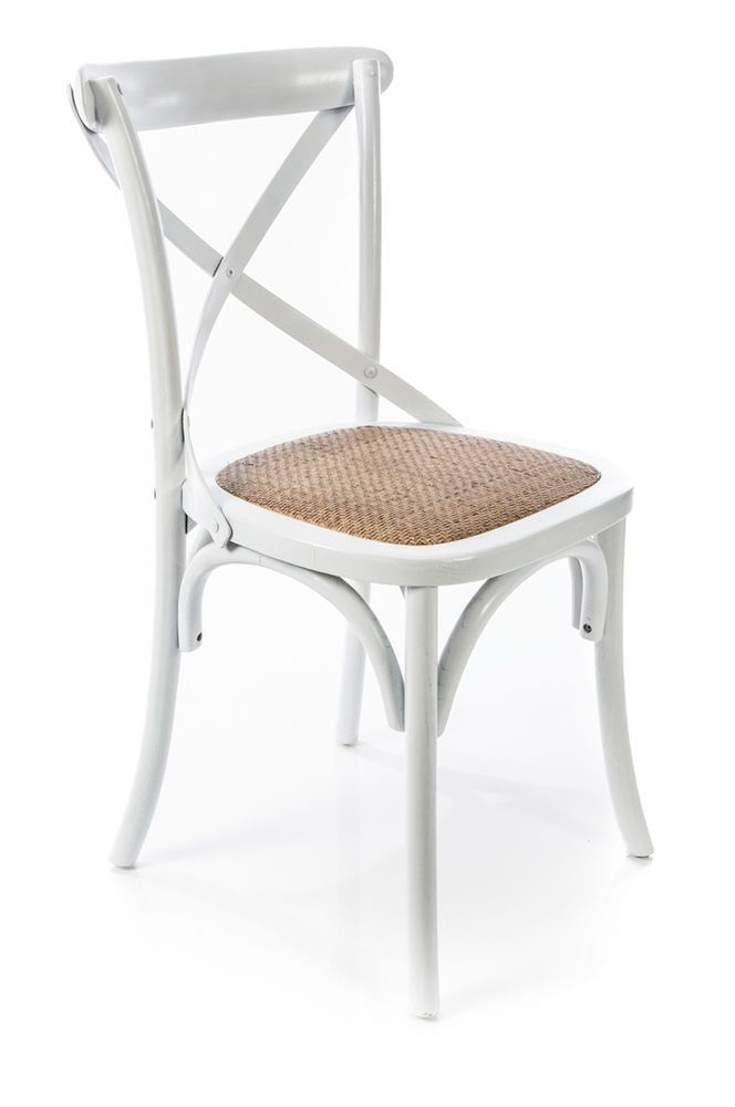 Elegant Distressed White Cross Back Chair Cross Back Dining Chairs, Farmhouse  Dining Chairs, Dining Tables