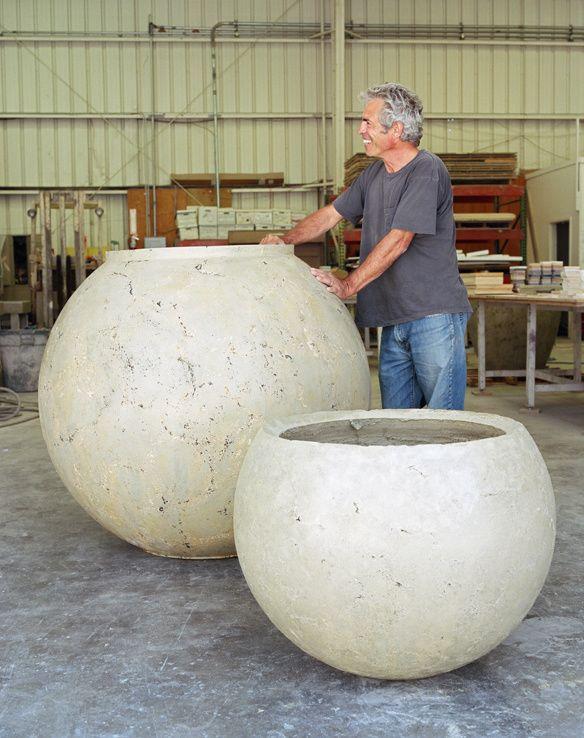 Buddy Rhodes Concrete Planters Diy Concrete Planters 400 x 300