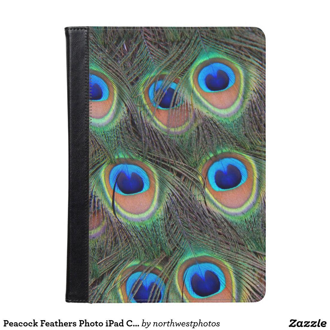 Peacock Feathers Photo iPad Case