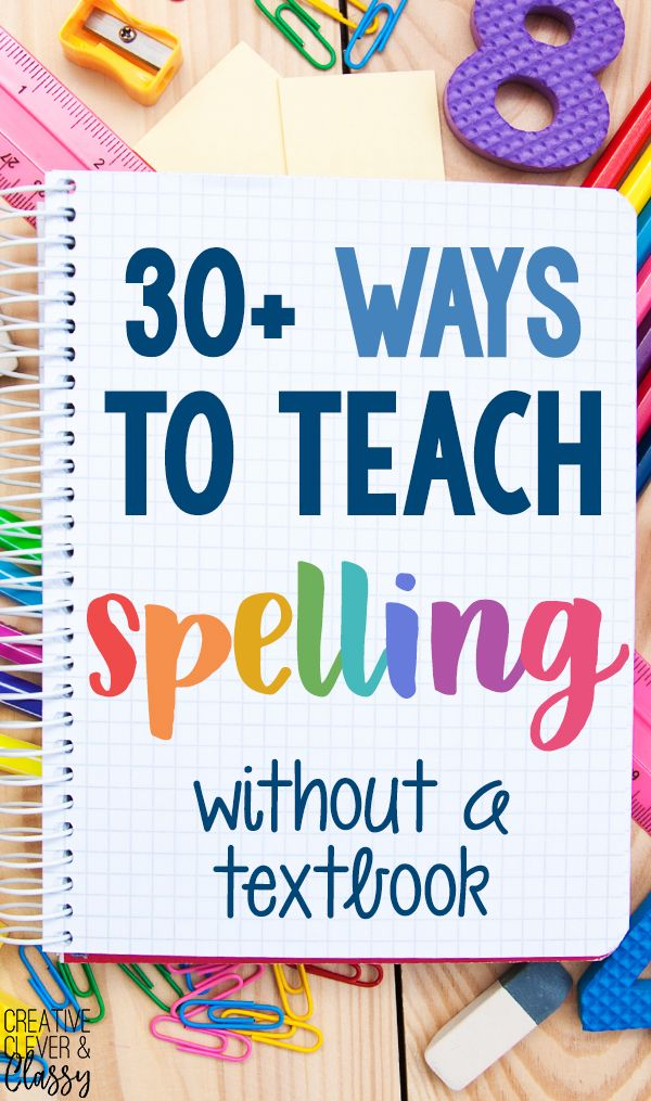 Teach spelling and vocabulary the non-boring way - naturally, and without a textbook! Here are 30+ ways to get hands-on and creative with spelling words.