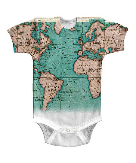 White Atlantic Bodysuit - Infant | zulily