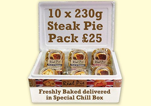 Winter Steak Collection - The Real Pie Company | Steak pie ...