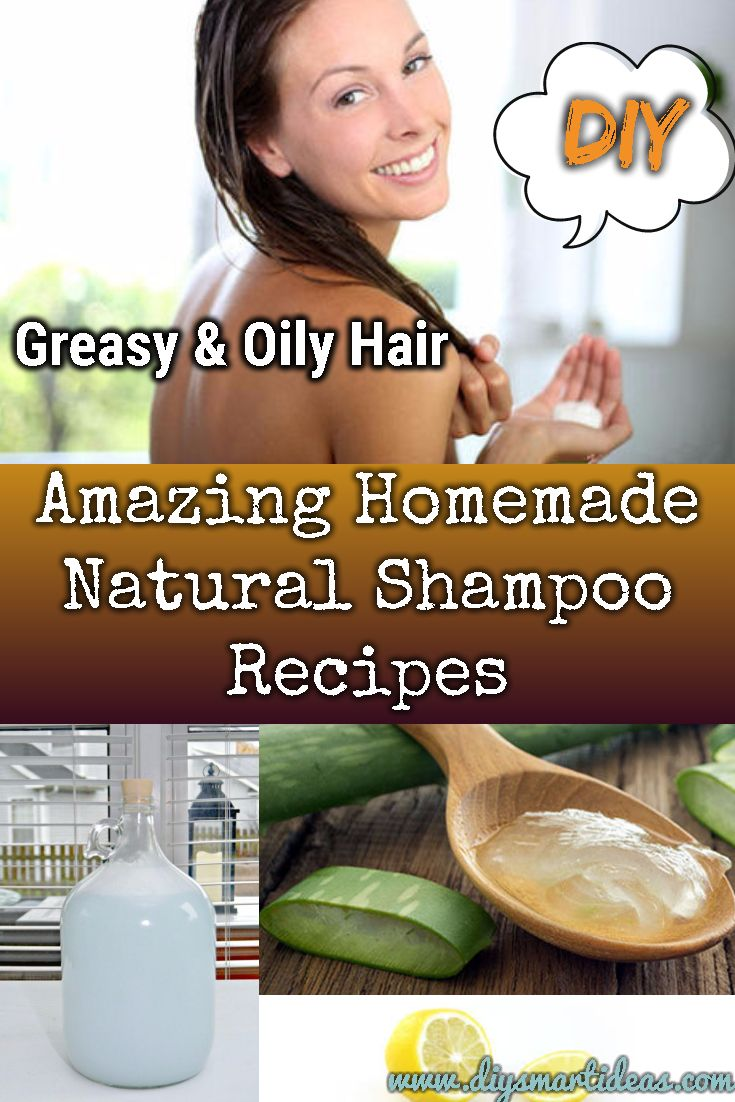 Easy Homemade Natural Shampoo Recipes You Can Make Yourself at Home