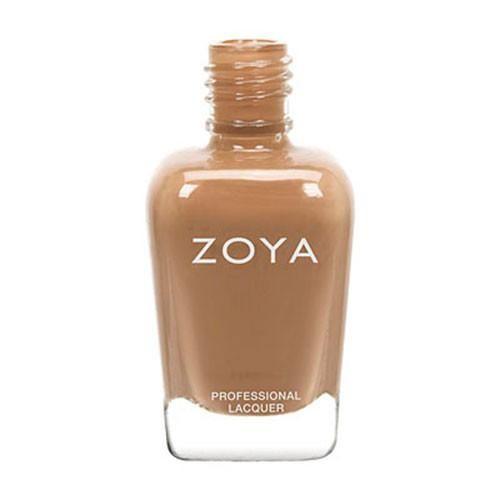 Zoya Flynn Nail Polish Lacquer Camel Brown Nude Cream Full
