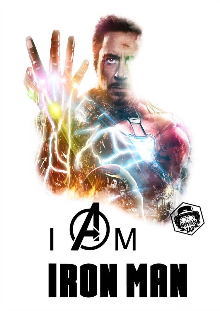 I Am Iron Man Poster By Bryanzap Deviantart Marvel Iron Man Poster Marvel Marvel Heroes