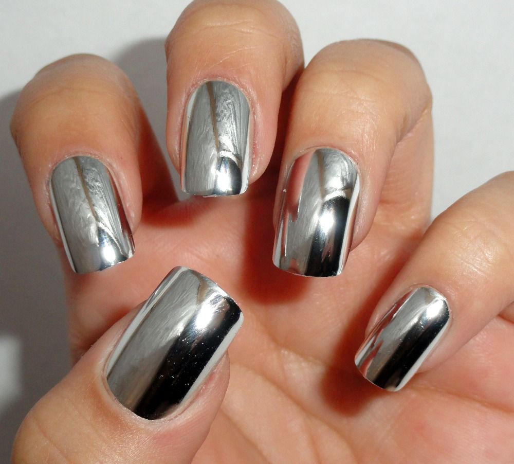 Chrome Nails! http://www.whatsthebestdietfor.com/how-to-grow-strong ...