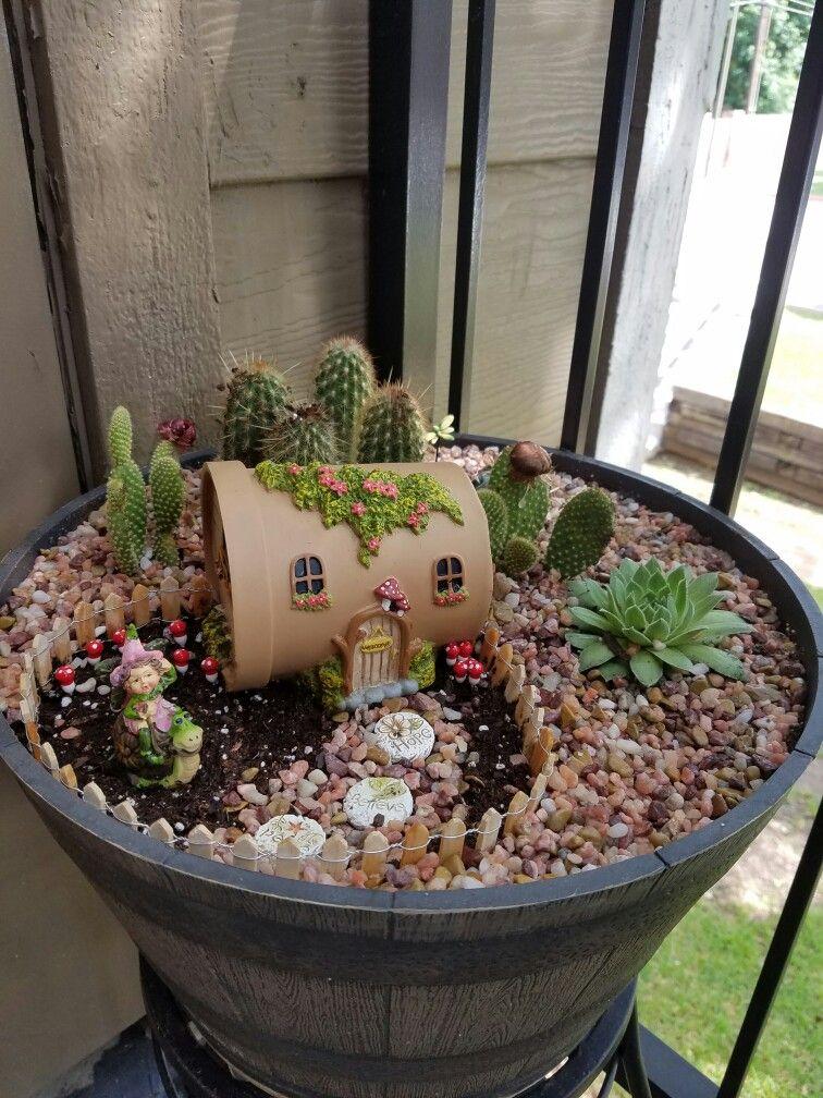 desert fairy garden baby mini fairy garden indoor. Black Bedroom Furniture Sets. Home Design Ideas