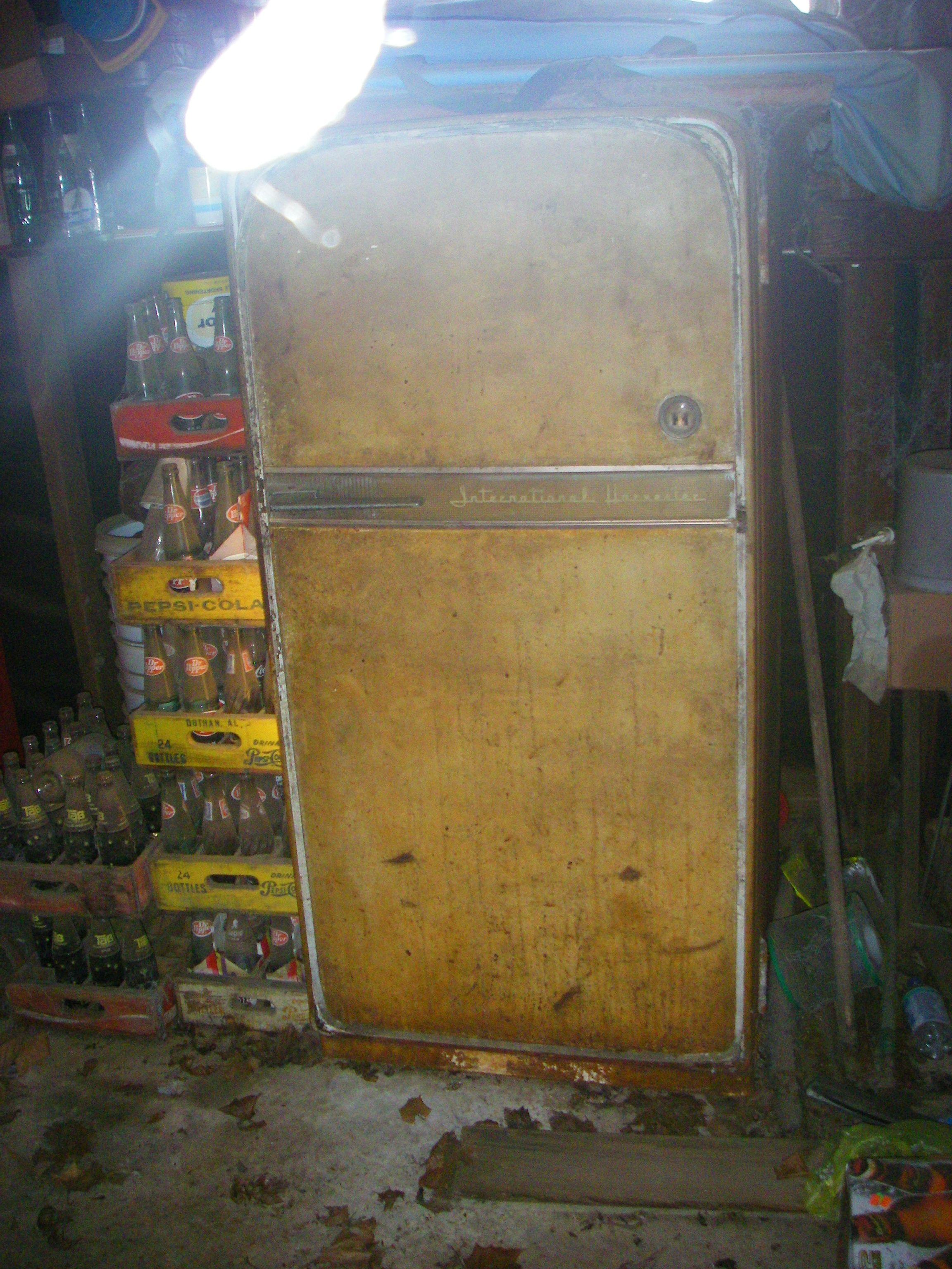 Refrigerateur Fait Par International Harvester Co A Chicago
