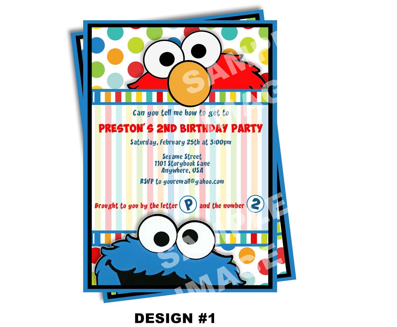 69ae3ba8e9a3c98f425f8068acf932c2 elmo invitation sesame street invitation birthday invitation pdf,Elmo Invitations Etsy