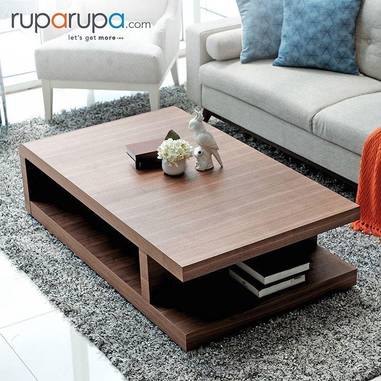 Masih Bingung Memilih Coffee Table Yang Pas Untuk Ruang Keluarga Simak 5 Hal Yang Harus Dip Sofa Table Design Table Decor Living Room Centre Table Living Room