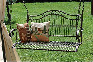 Panca sospesa altalena con catena altalena da giardino panca