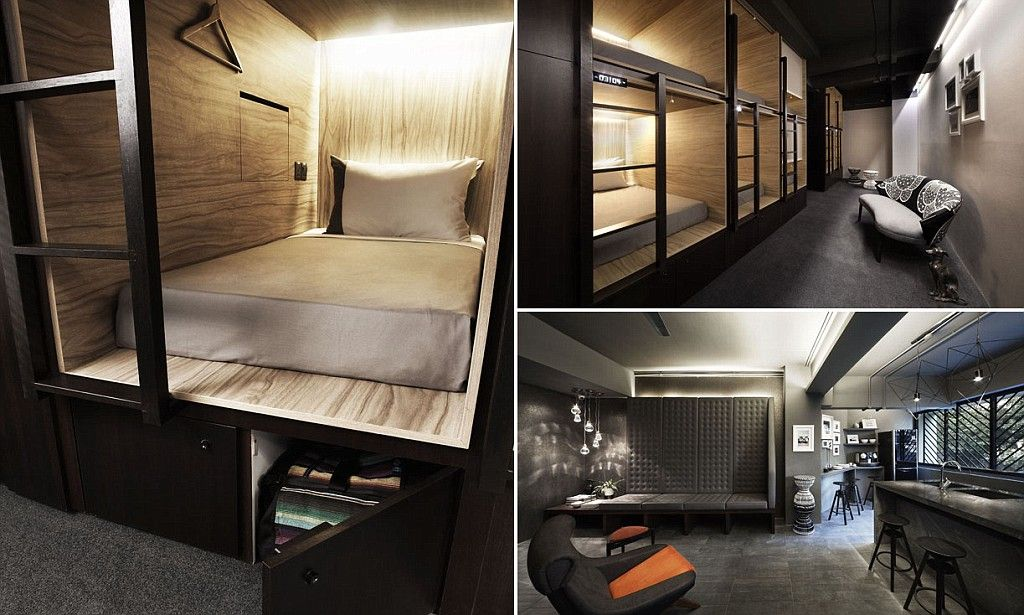 Sleep tight (there's no other way really): Capsule hotel with 83 luxury pods opens in Singapore