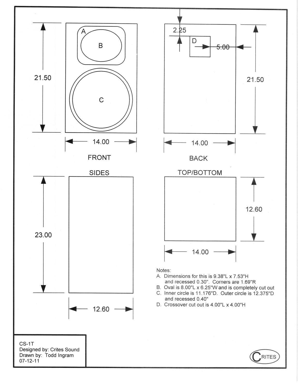 Resultado De Imagen Diy Plans Klipsch Heresy Sound Speakers Wiring Diagrams Boxes Bricolage Do It