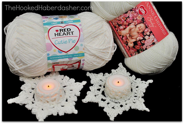 Free Snowflake Tea light Cozy Crochet Pattern. | Patterns ...