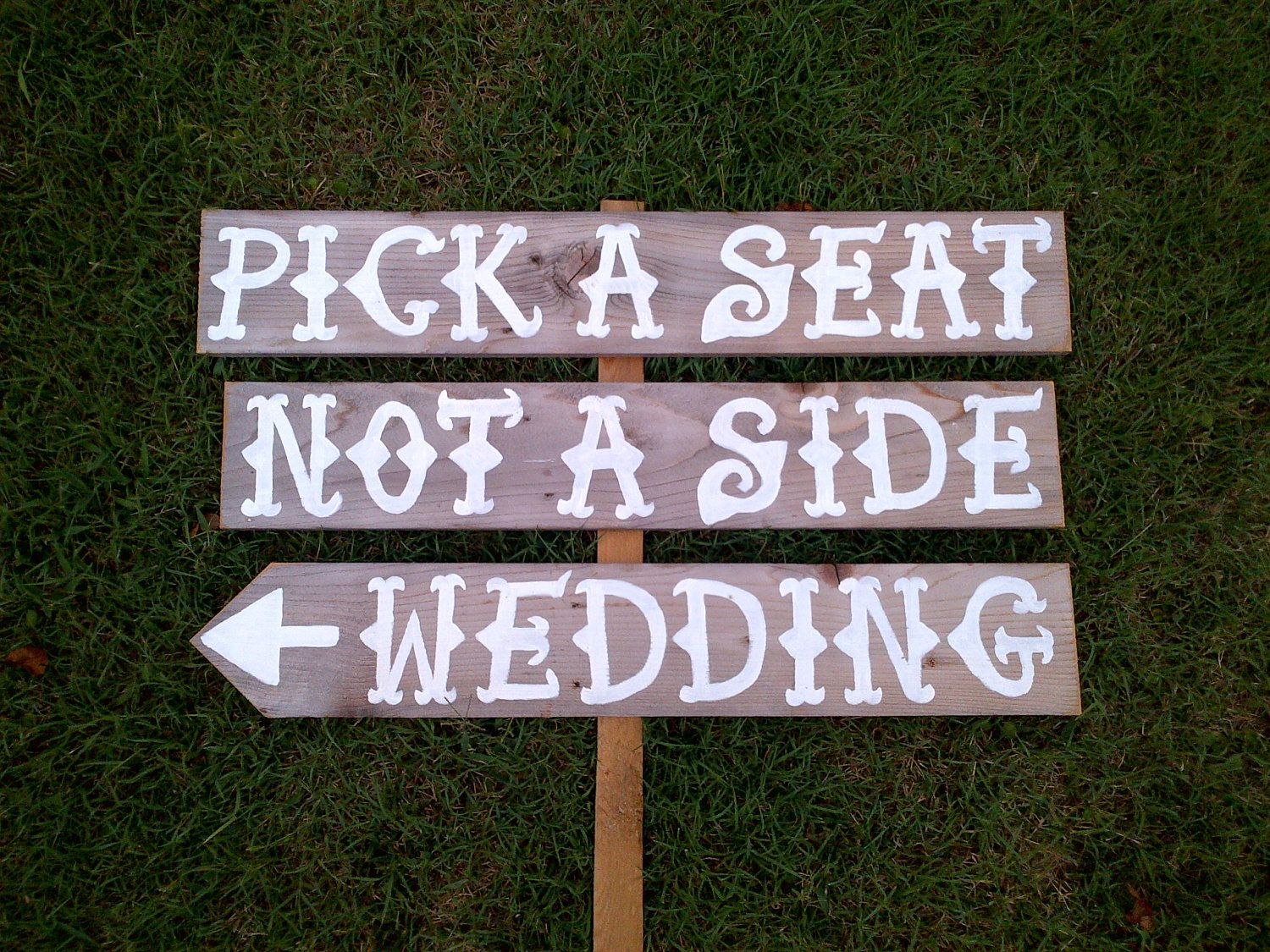 Wedding sign rd time would be the charm pinterest wedding