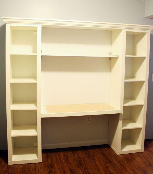 17 Best Ideas About Bookshelf Desk On Pinterest Diy Office