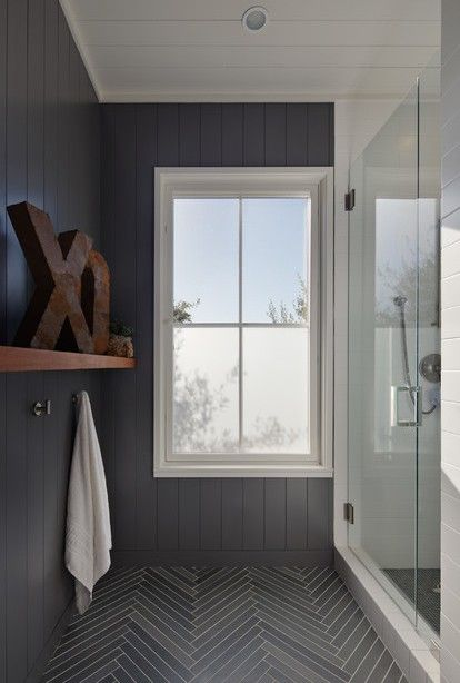 All Remodelista Home Inspiration Stories In One Place Herringbone Tile Floors Bathroom Inspiration Grey Bathroom Floor