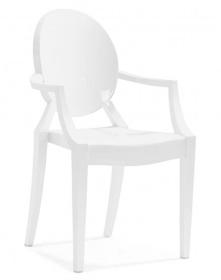 Delicieux White Ghost Chair
