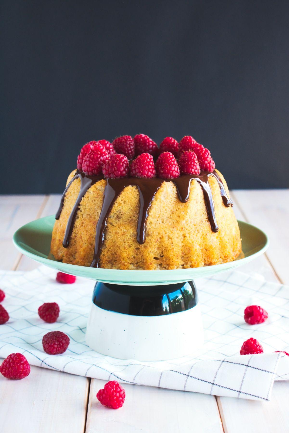 Banana chocolate bundt cake moist banana cake with a hint
