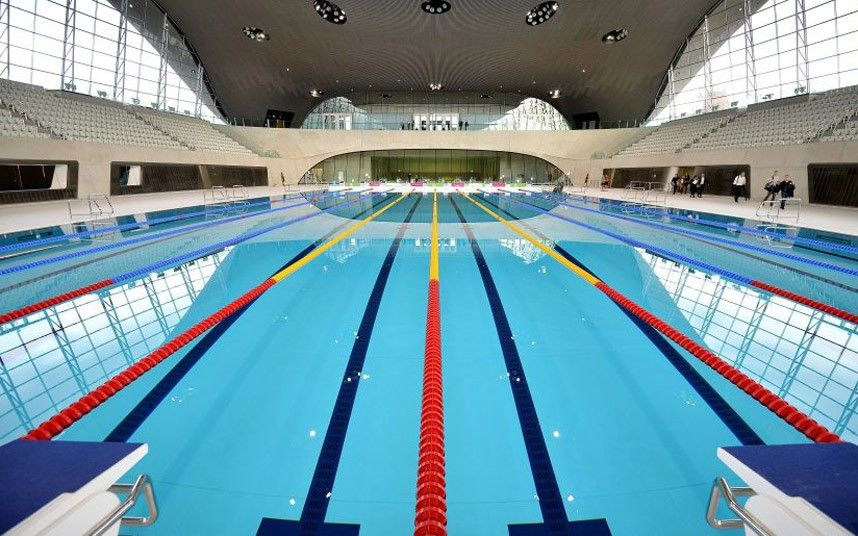 desperately seeking the perfect swimming pool - Olympic Swimming Pool 2012