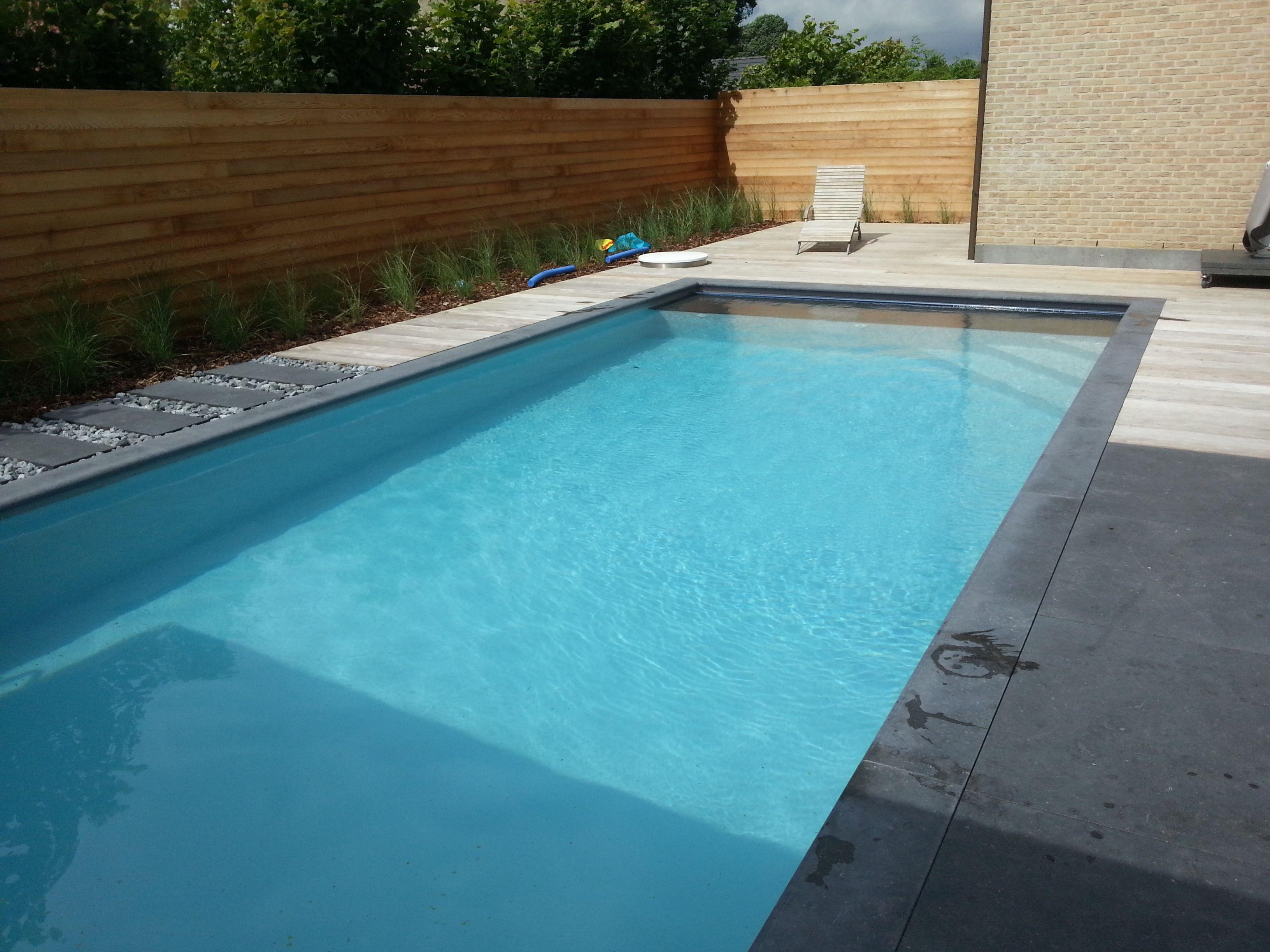 Zwembad met liner elbe grijs zwembaden jr pools for Intex zwembad grijs