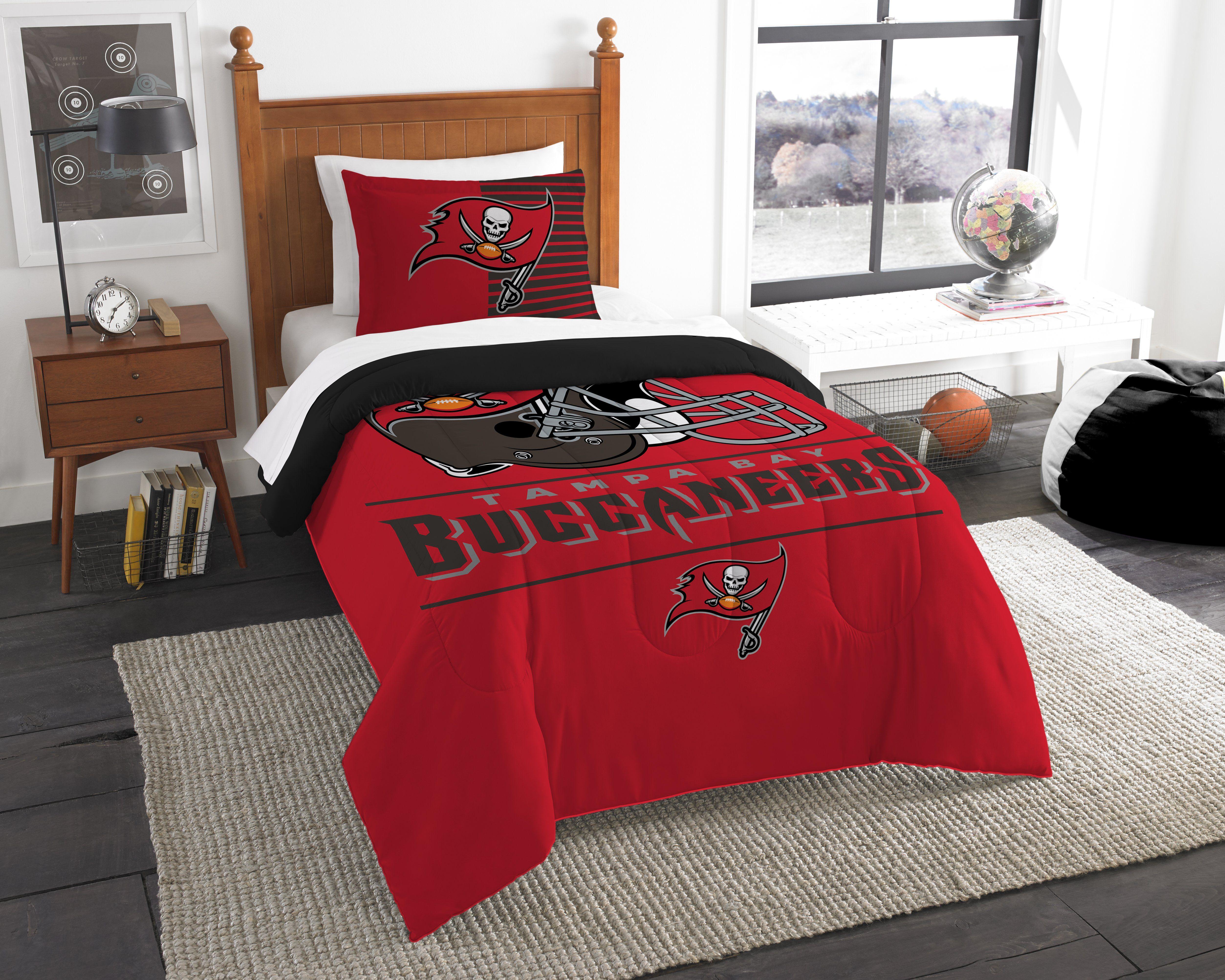 Bucs Official National Football League Bedding Draft Printed Twin Comforter 64 X 86 1 Sham Twin Comforter Sets Comforter Sets Twin Comforter