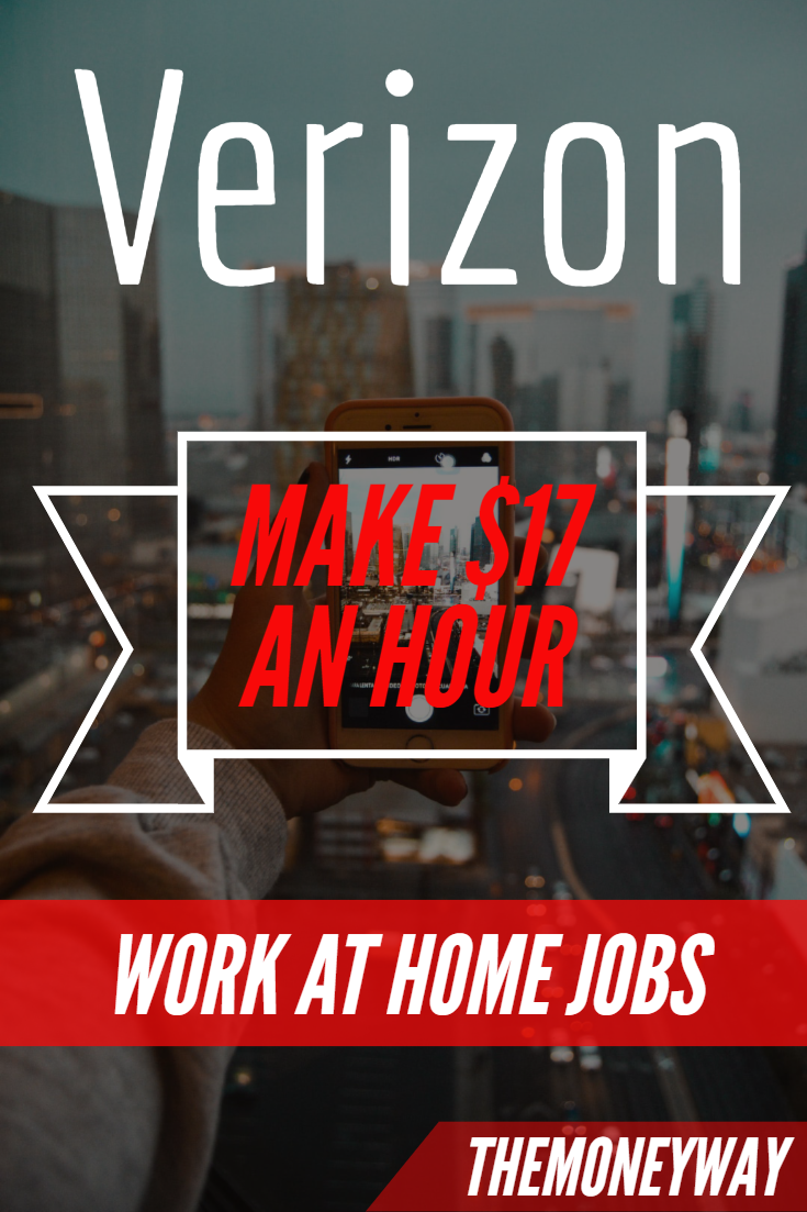 Verizon Work From Home Job Work from home jobs, Working