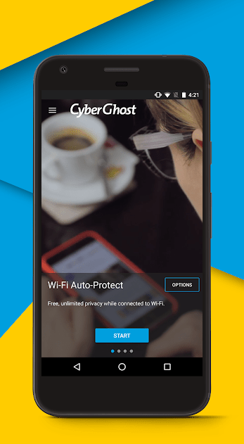 CyberGhost VPN Premium v6 0 17 106 2659 Cracked APK Download