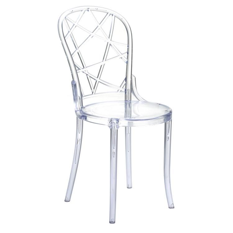Finemod Imports Spiral Dining Chair Dining Chairs Clear Chairs