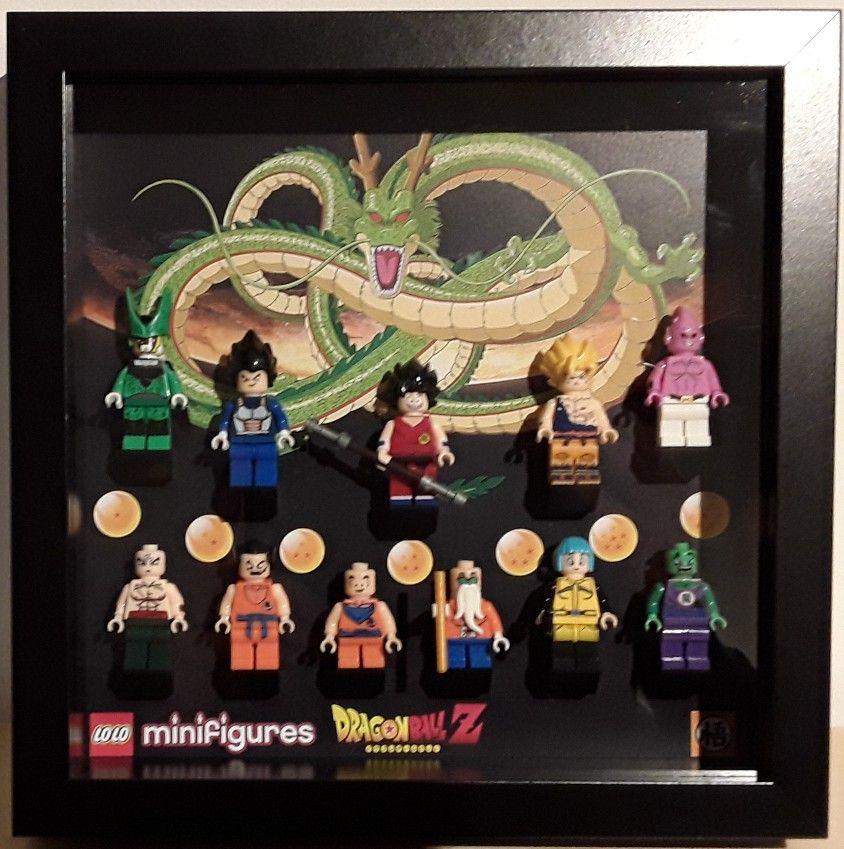 Custom Dragon Ball Minifigures Frame 23x23 (Ribba) | LEGO Frame ...