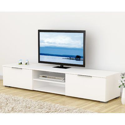 Wade Logan Rafael Tv Stand For Tvs Up To 80 Products Furniture