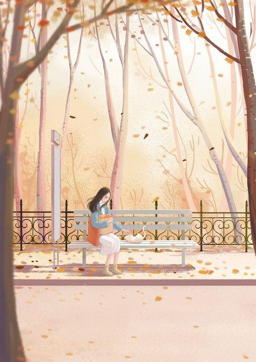 Cherry Gu Donghaomon Ilustrasi Ilustrasi Fantasi Gambar