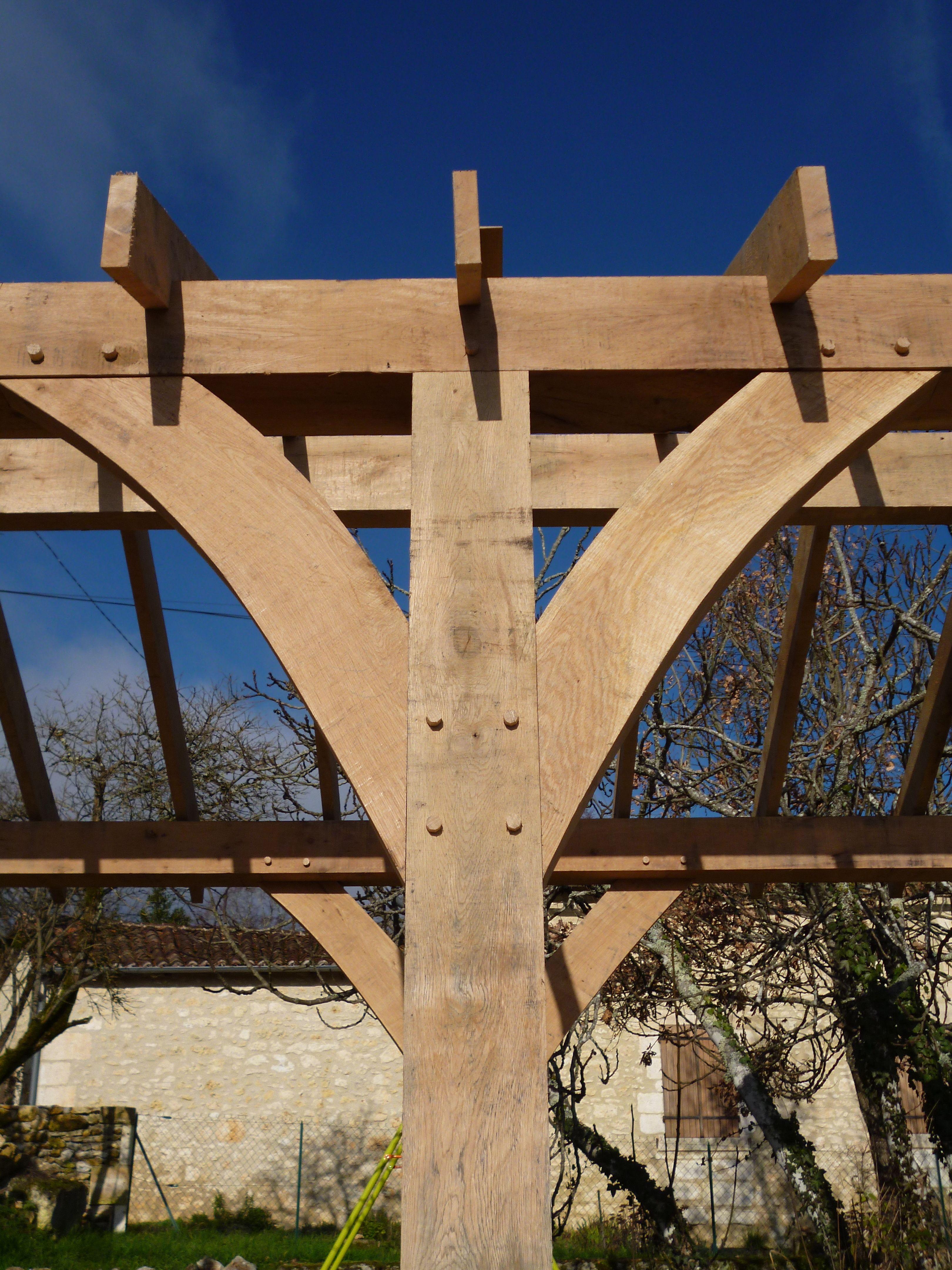 oak frame, timber frame, carpentry, carpenter, maison colombage ...