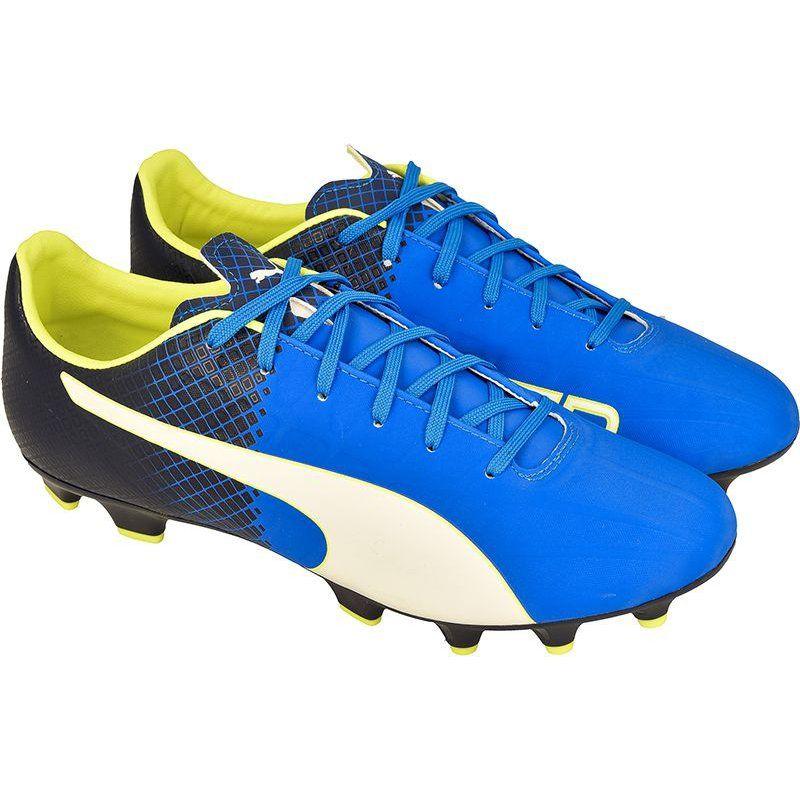 Buty Pilkarskie Puma Evospeed 4 5 Fg M 10359204 Niebieskie Niebieskie Sport Shoes Shoes Puma