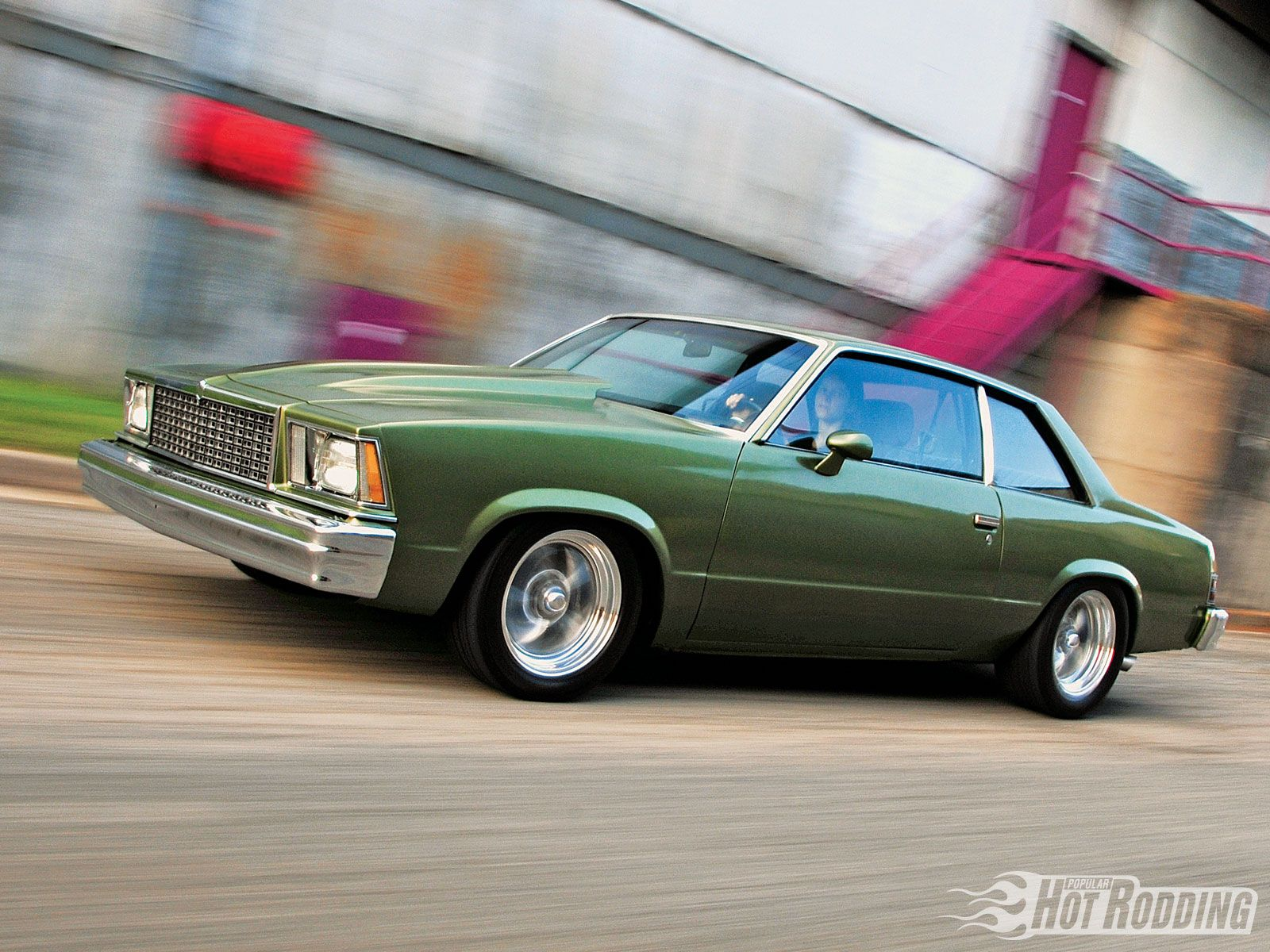 S Chevrolet Malibu Classic Coupe Funky Color Nice Ride