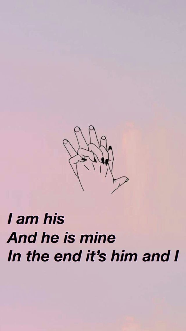 I am his, he is mine, in the end its him and I. #himandi @fariyaa13