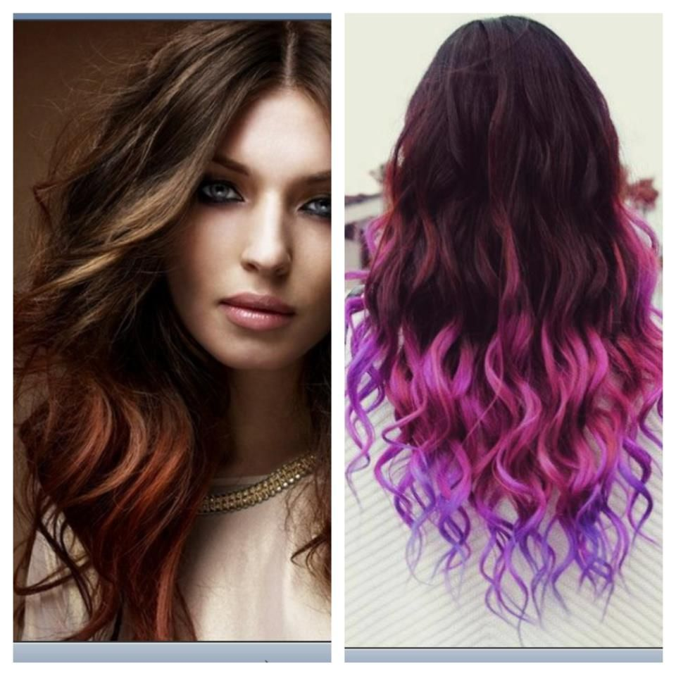 Pink and purple ombre Hair Pinterest Ombre hair Hair strand